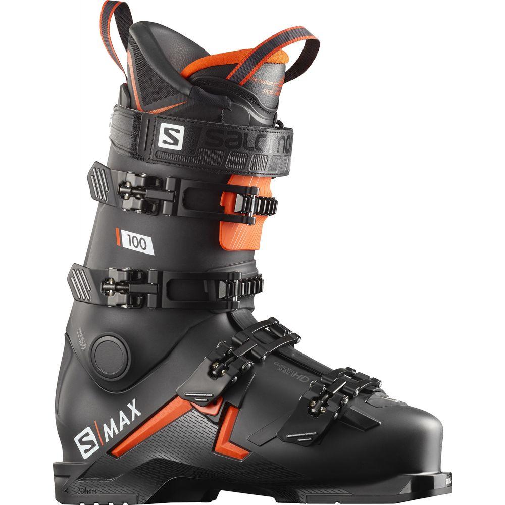 サロモン Salomon メンズ スキー・スノーボード シューズ・靴【S/Max 100 Ski Boots 2020】Black/Orange/White