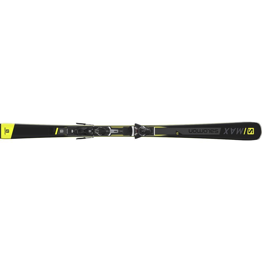 サロモン Salomon メンズ スキー・スノーボード ボード・板【S/Max 10 Skis w/ Z11 Walk Bindings 2019】Black/Yellow