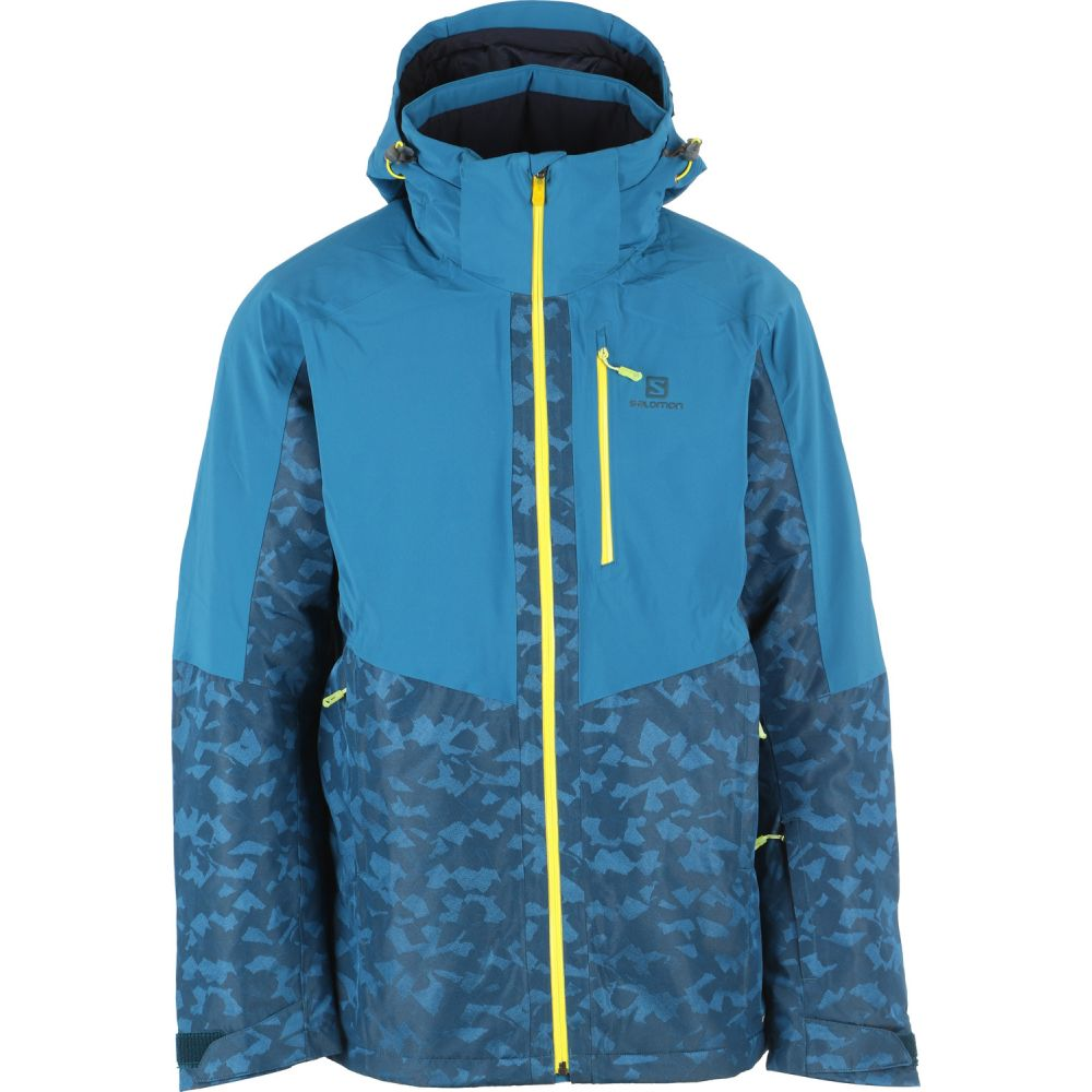 サロモン Salomon メンズ Blue/Reflecting スキー Pool・スノーボード アウター【Icerink Jacket Ski Jacket 2019】Moroccan Blue/Reflecting Pool, 発表会衣装専門店*Angels Closet:27456859 --- sunward.msk.ru
