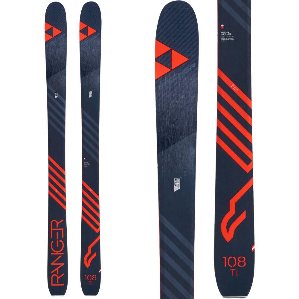 フィッシャー Fischer メンズ スキー・スノーボード ボード・板【Ranger 108 Ti Skis 2019】