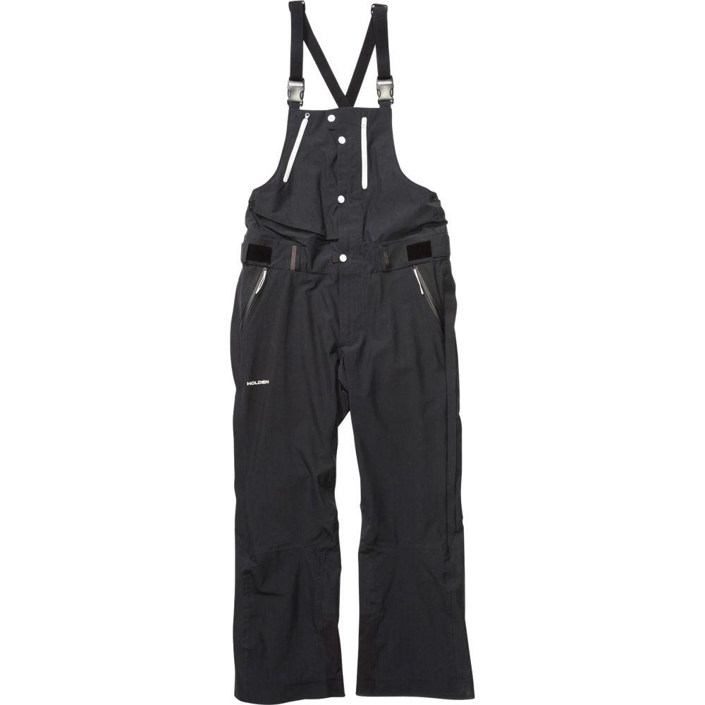 ホールデン Holden メンズ スキー・スノーボード ボトムス・パンツ【Highland Bib Snowboard Pants 2019】Black