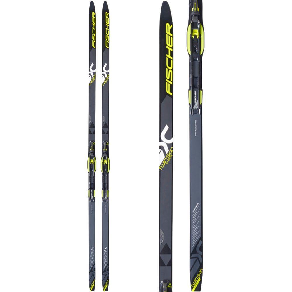 フィッシャー Fischer メンズ スキー・スノーボード ボード・板【Twin Skin Superlite EF XC Skis 2019】Black/Yellow