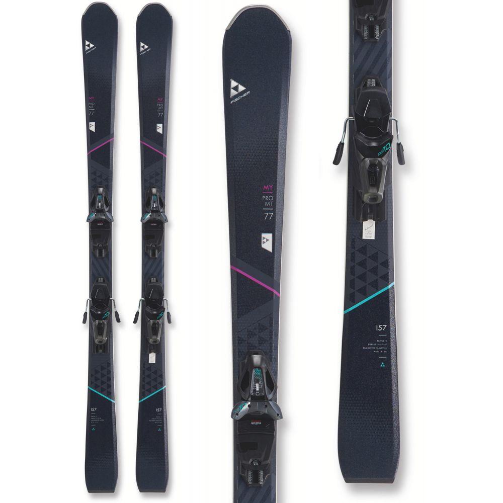 フィッシャー Fischer レディース スキー・スノーボード ビンディング【My Pro MTN 77 Skis w/ My RS10 GW Powerrail Bindings 2019】