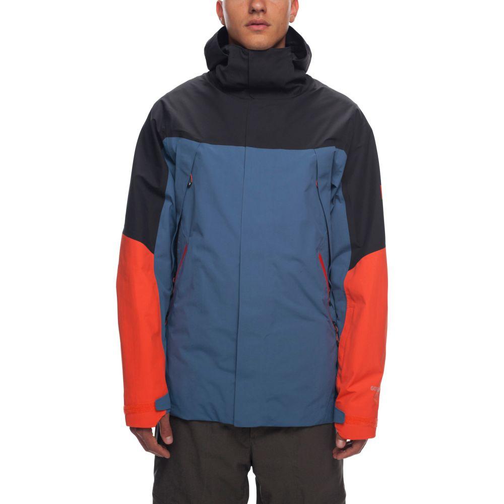 シックス エイト シックス 686 メンズ スキー・スノーボード アウター【Stretch Gore-Tex Zone Thermagraph Snowboard Jacket 2019】Bluesteel Colorblock