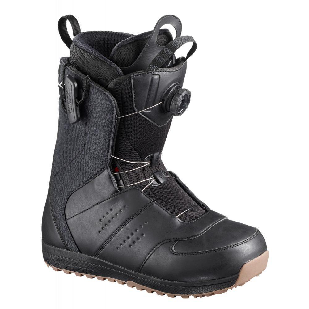 サロモン Salomon Snowboard メンズ 2019】Black スキー・スノーボード シューズ・靴【Launch BOA Boots STR8JKT Snowboard Boots 2019】Black, 勝央町:8f548495 --- sunward.msk.ru