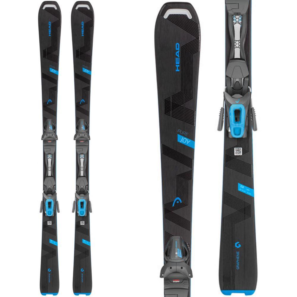 ヘッド Head レディース スキー・スノーボード ビンディング【Pure Joy Skis w/ Joy 9 GW SLR Bindings 2019】Black/Blue