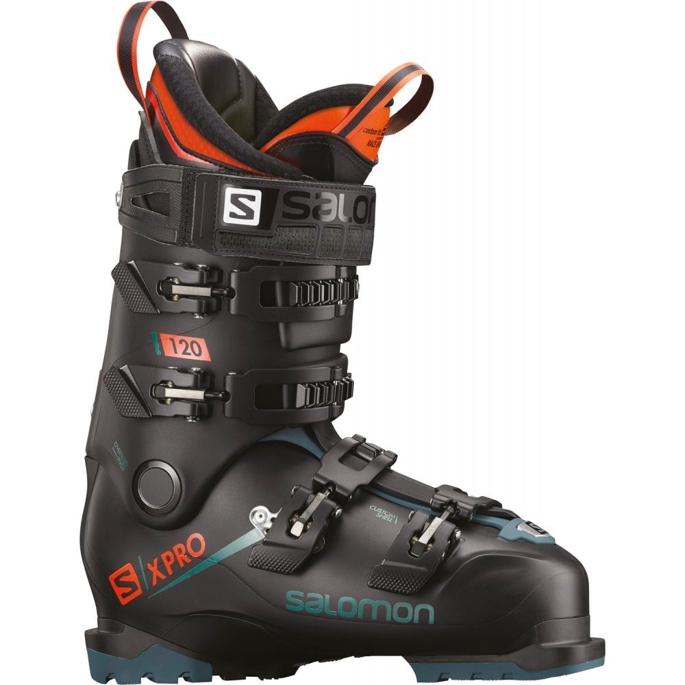 サロモン Salomon メンズ スキー・スノーボード シューズ・靴【X Pro 120 Ski Boots 2019】Black/Blue/Orange