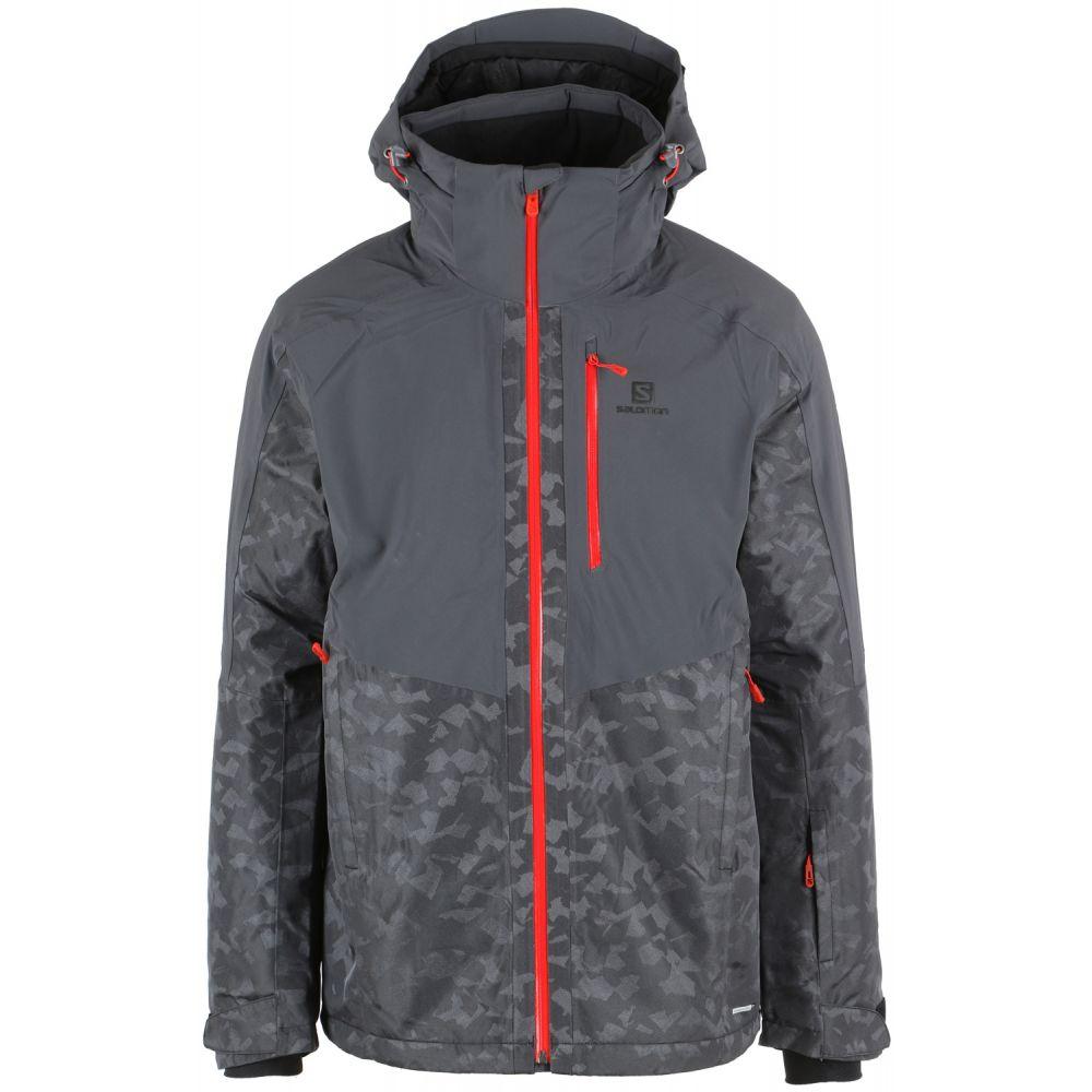サロモン Salomon メンズ スキー・スノーボード Salomon アウター Ski【Icerink Ski Jacket メンズ 2019】Forged Iron/Black, サントクレア:d6693b6d --- campusformateur.fr