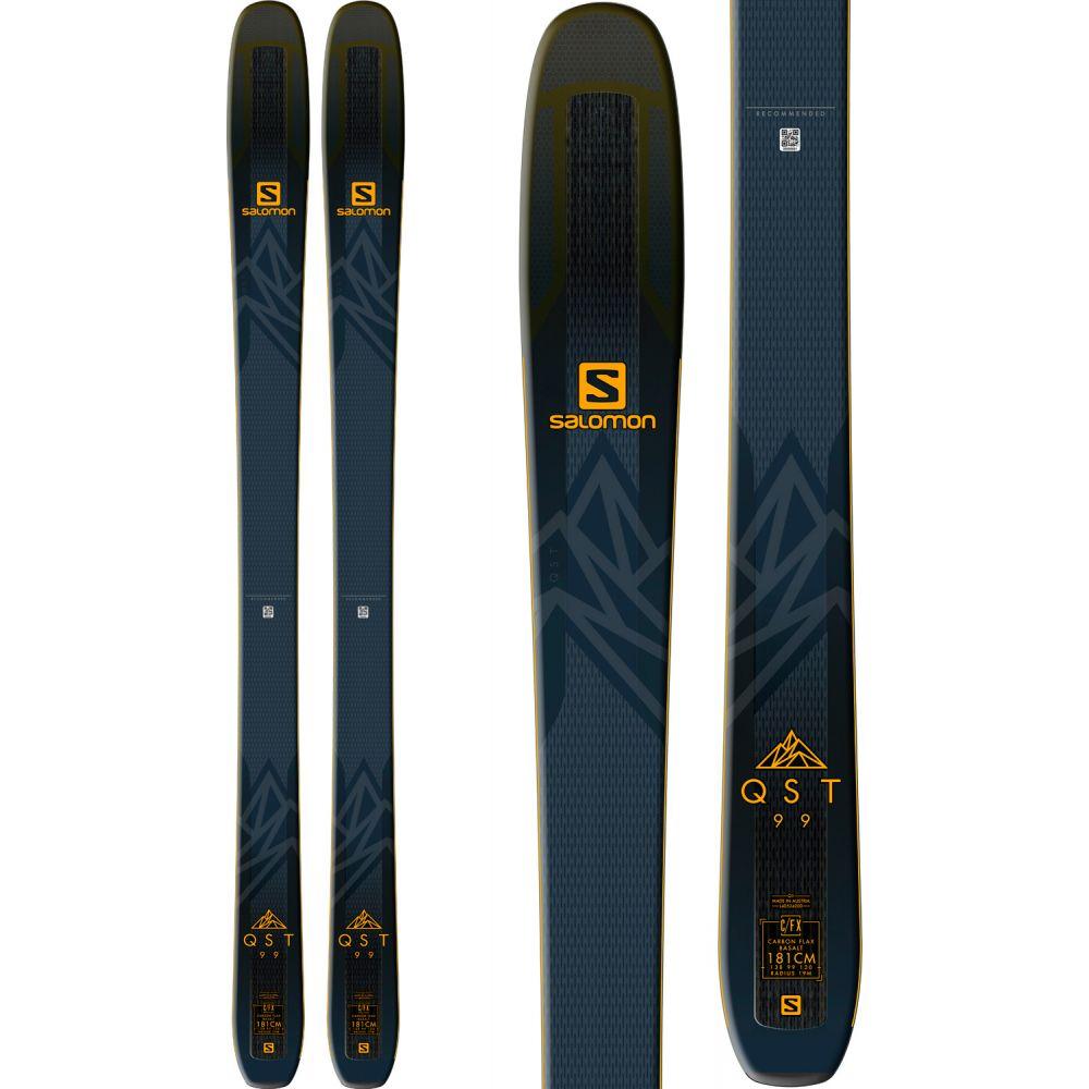 サロモン Salomon メンズ スキー・スノーボード ボード・板【QST 99 Skis 2019】Black/Saffron