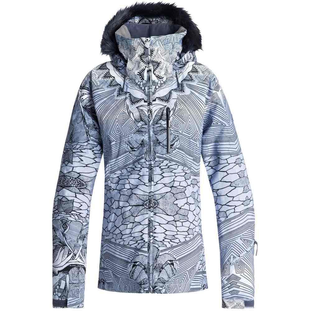 ロキシー Roxy レディース スキー・スノーボード アウター【Jet Ski Premium Snowboard Jacket 2019】Crown Blue/Freezeland