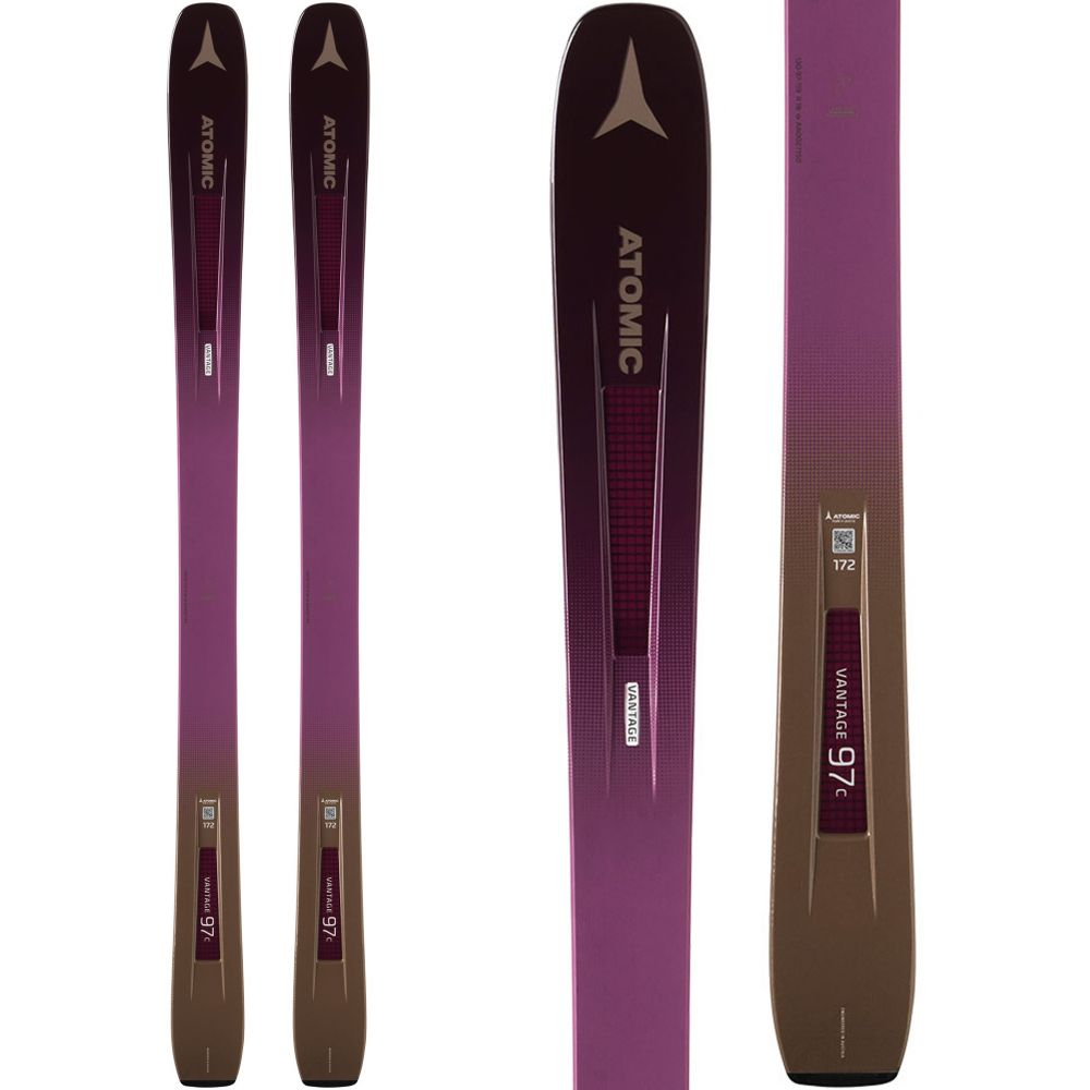 アトミック Atomic レディース スキー・スノーボード ボード・板【Vantage 97 C Skis 2019】Berry/Copper