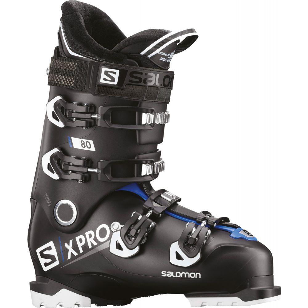 サロモン Salomon メンズ スキー・スノーボード シューズ・靴【X Pro 80 Ski Boots 2019】Black/Race Blue/White