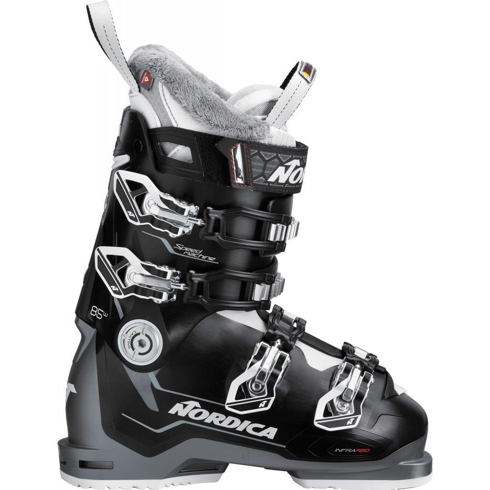 ノルディカ Nordica レディース スキー・スノーボード シューズ・靴【Speedmachine 85 Ski Boots 2019】Black/Anthracite/White