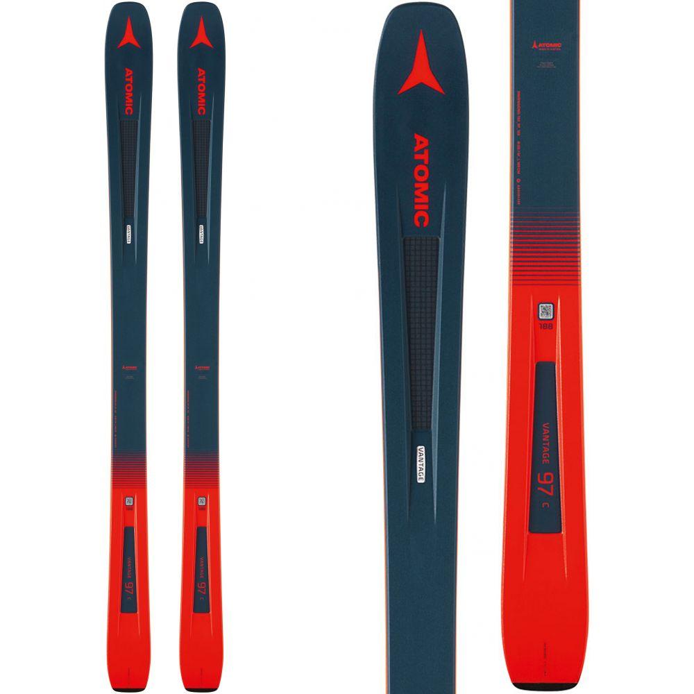 アトミック Atomic メンズ スキー・スノーボード ボード・板【Vantage 97 C Skis 2019】Blue/Red