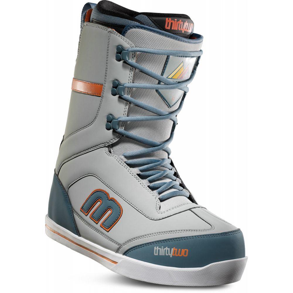 サーティーツー Thirty Two メンズ スキー・スノーボード シューズ・靴【32 - Lo-Cut Sexton Snowboard Boots 2019】Grey/Green