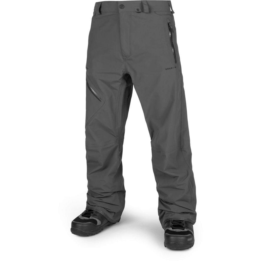ボルコム Volcom メンズ スキー・スノーボード ボトムス・パンツ【L Gore-Tex Snowboard Pants 2019】Vintage Black