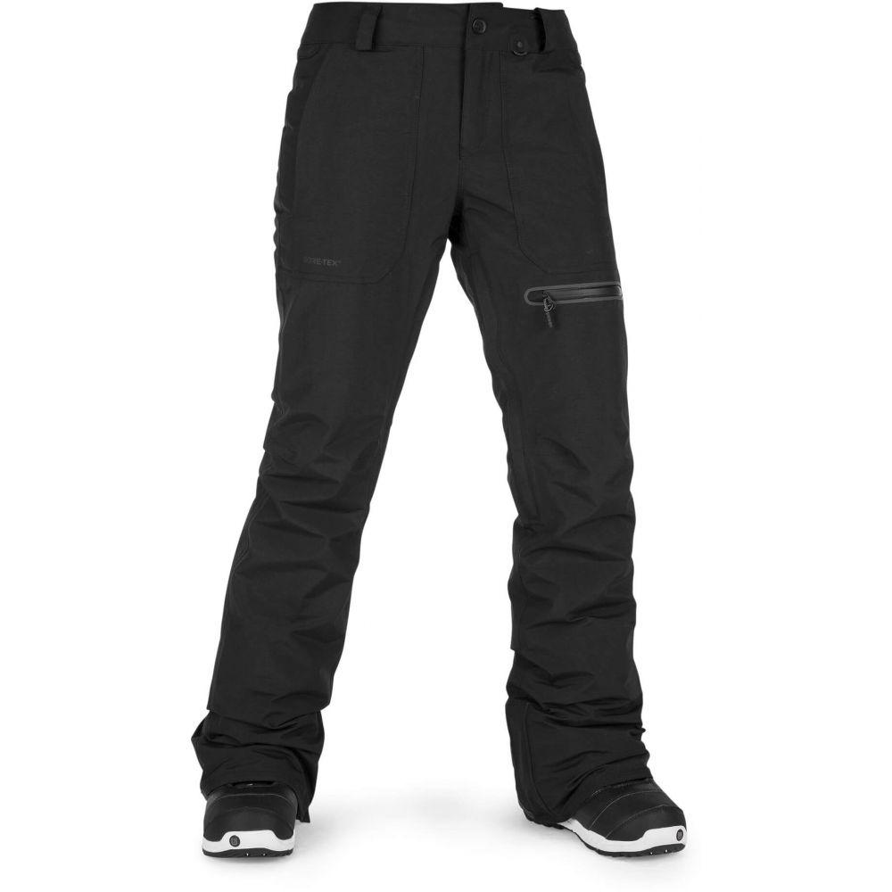ボルコム Volcom レディース スキー・スノーボード ボトムス・パンツ【Knox Insulated Gore-Tex Snowboard Pants 2019】Black
