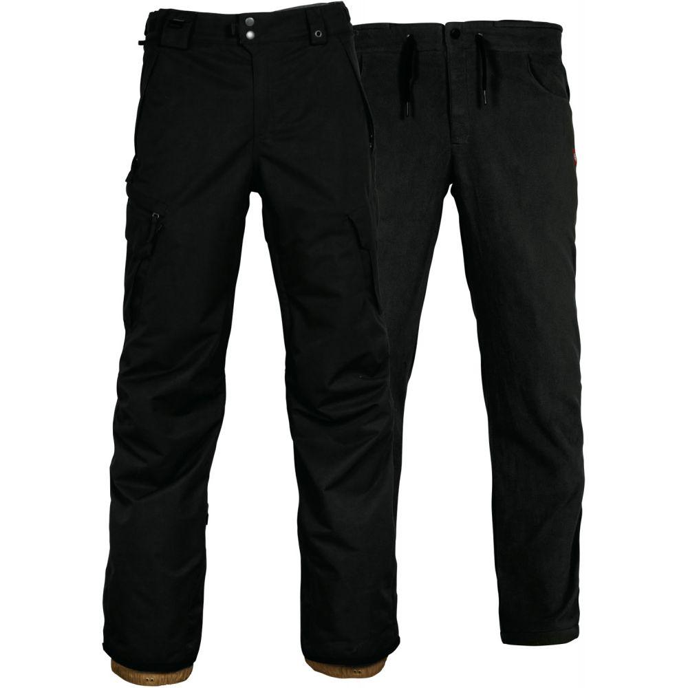 シックス エイト シックス 686 メンズ スキー・スノーボード ボトムス・パンツ【Smarty 3-in-1 Cargo Tall Snowboard Pants 2019】Black