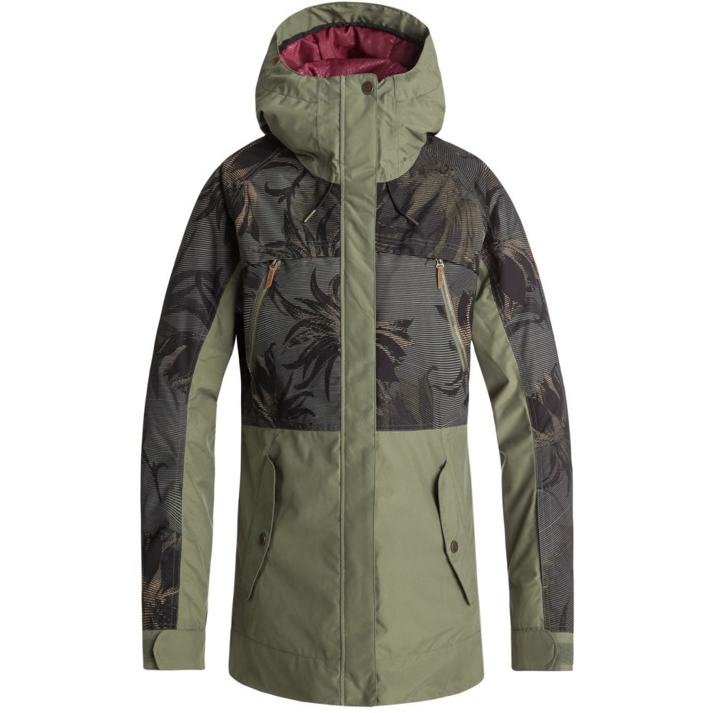 ロキシー Roxy レディース スキー・スノーボード アウター【Tribe Snowboard Jacket 2019】Four Leaf Clover/Swell Flowers