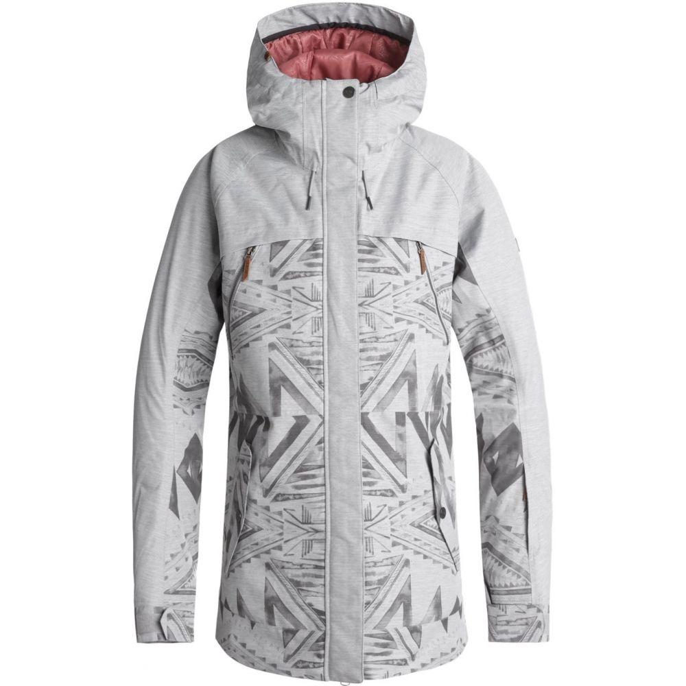 ロキシー Roxy レディース スキー・スノーボード アウター【Tribe Snowboard Jacket 2019】Warm Heather Grey/Matador Jacquard