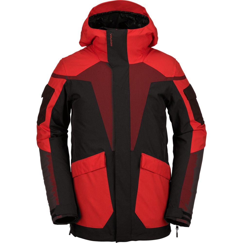 素晴らしい品質 ボルコム Volcom メンズ Red スキー アウター【Utility ボルコム・スノーボード アウター【Utility Snowboard Jacket 2019】Black Red, クマゲグン:3f477122 --- canoncity.azurewebsites.net