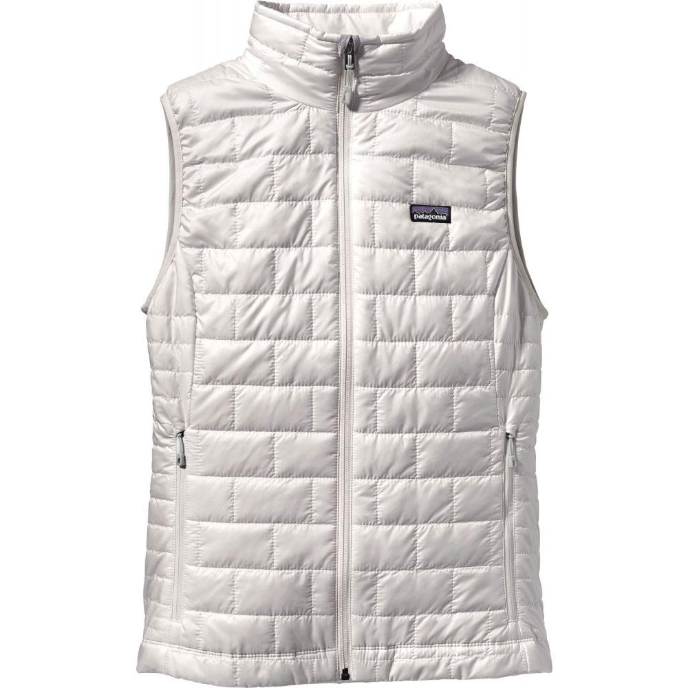パタゴニア Patagonia レディース スキー・スノーボード トップス【Nano Puff Vest】Birch White
