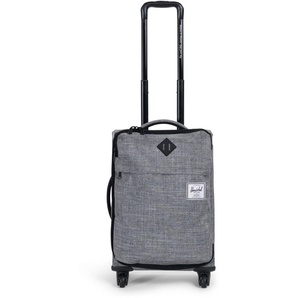 ハーシェル サプライ Herschel メンズ バッグ スーツケース・キャリーバッグ【Highland Carry-On Wheeled Travel Bag】Raven Crosshatch