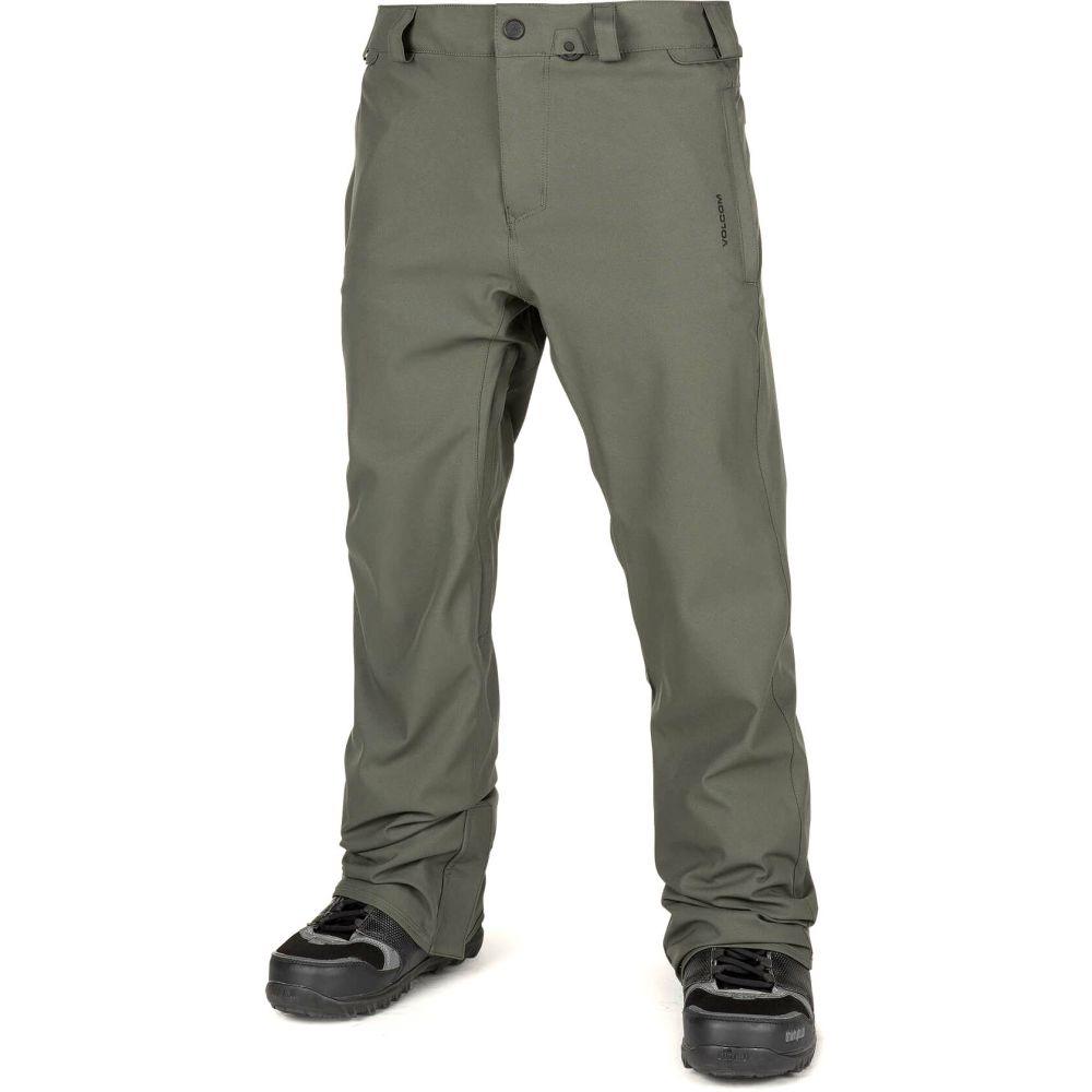 ボルコム Volcom メンズ スキー・スノーボード ボトムス・パンツ【Freakin Snow Chino Snowboard Pants 2019】Black Green