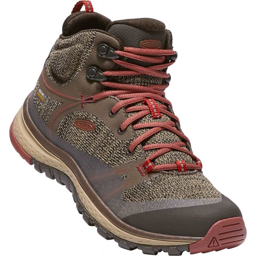 キーン Keen レディース ハイキング・登山 シューズ・靴【Terradora Mid WP Hiking Boots】Canteen/Marsala