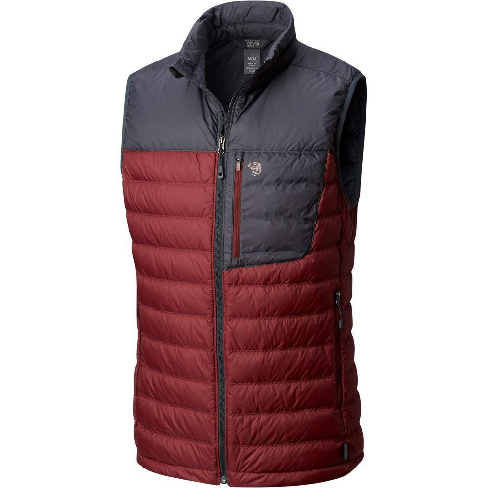 マウンテンハードウェア Mountain Hardwear メンズ スキー・スノーボード トップス【Dynotherm Down Vest】Smith Rock