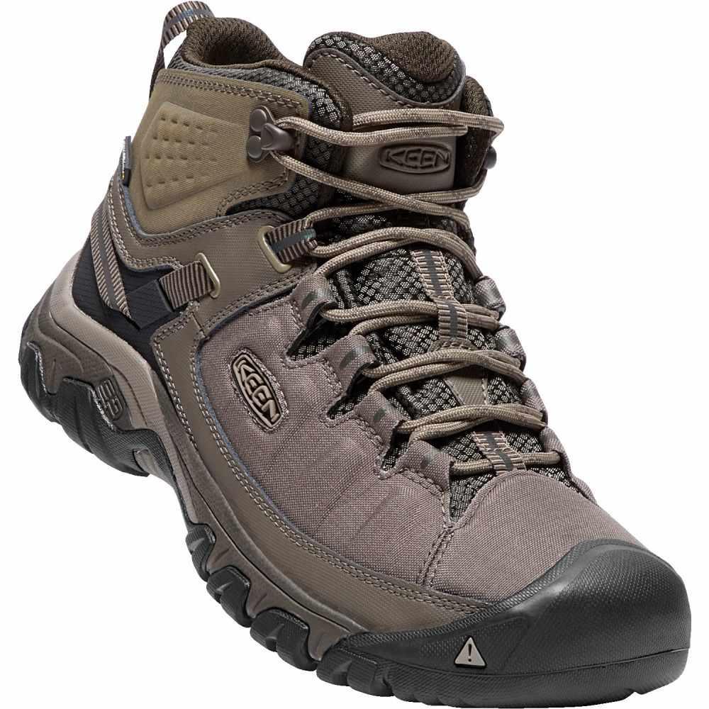 キーン Keen メンズ ハイキング・登山 シューズ・靴【Targhee Exp Mid WP Hiking Boots】Bungee Cord/Brindle