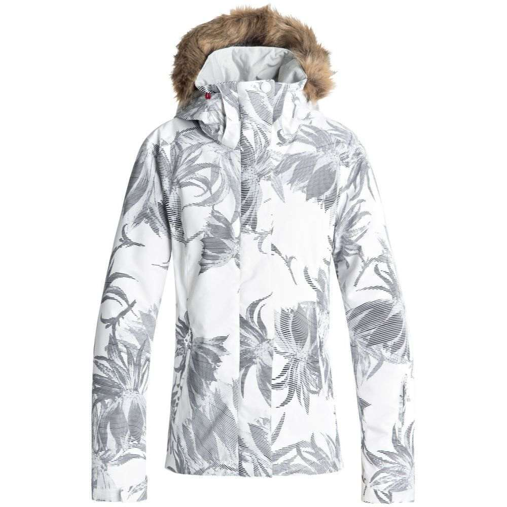 ロキシー Roxy レディース スキー・スノーボード アウター【Jet Ski Snowboard Jacket 2019】Bright White/Swell Flowers