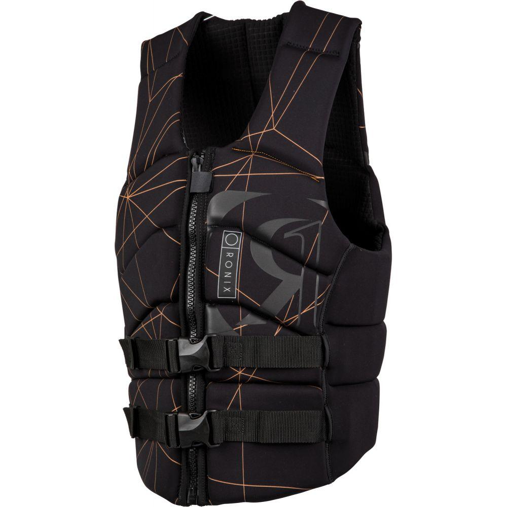 ロニックス Ronix メンズ トップス【Kinetic Park Fit NCGA Wakeboard Vest 2019】Black/Copper