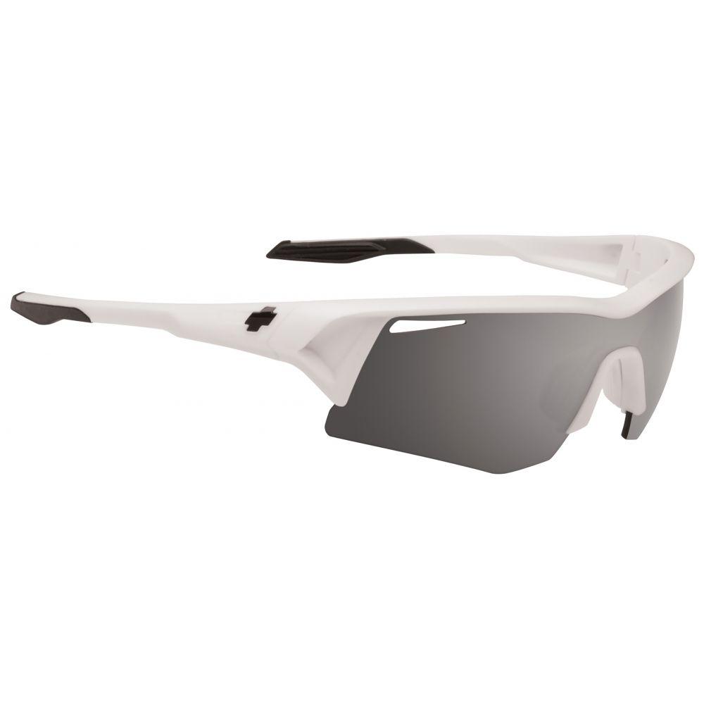 スパイ Spy メンズ メガネ・サングラス【Screw Sunglasses】Matte White/Bronzew/Black Mirr And Rose Lens