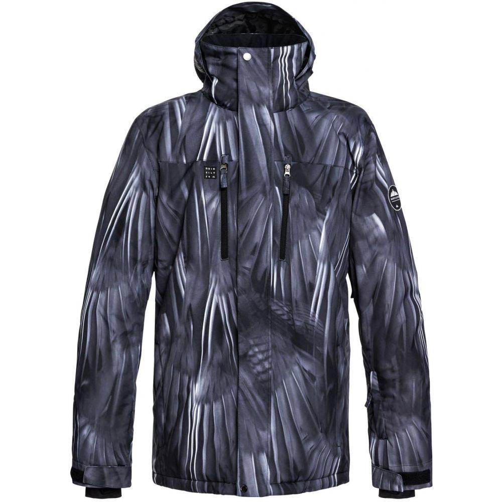 クイックシルバー Quiksilver メンズ スキー・スノーボード アウター【Mission Printed Snowboard Jacket 2019】Black Stellar