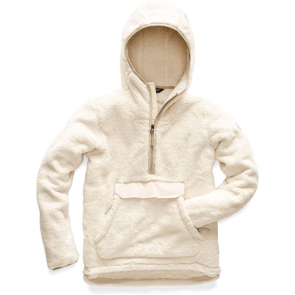ザ ノースフェイス The North Face レディース スキー・スノーボード トップス【Campshire Pullover Hoodie Fleece 2019】Vintage White/Peyote Beige