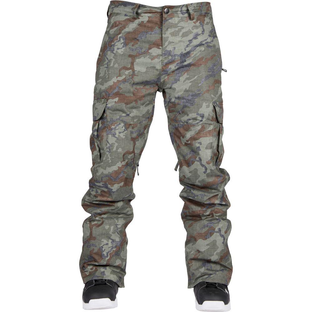 ボンファイヤー Bonfire メンズ スキー・スノーボード ボトムス・パンツ【Tactical Snowboard Pants 2019】Olive Camo