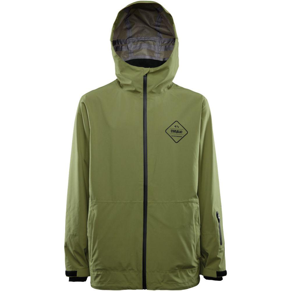 サーティーツー Thirty Two メンズ スキー・スノーボード アウター【32 - Kumo Snowboard Jacket】Olive