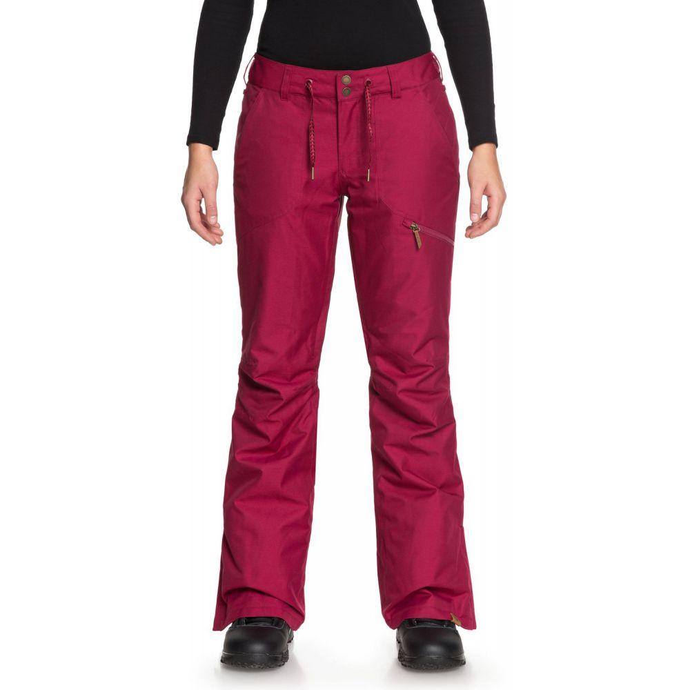 ロキシー Roxy レディース スキー・スノーボード ボトムス・パンツ【Nadia Snowboard Pants 2019】Beet Red