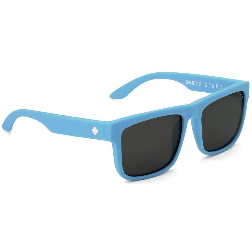 スパイ Spy メンズ メガネ・サングラス【Discord Sunglasses】Matte Blue/Happy Bronze Polarized/Black Mirror Lens