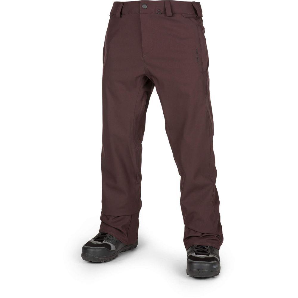 ボルコム Volcom メンズ スキー・スノーボード ボトムス・パンツ【Freakin Snow Chino Snowboard Pants 2019】Black Red