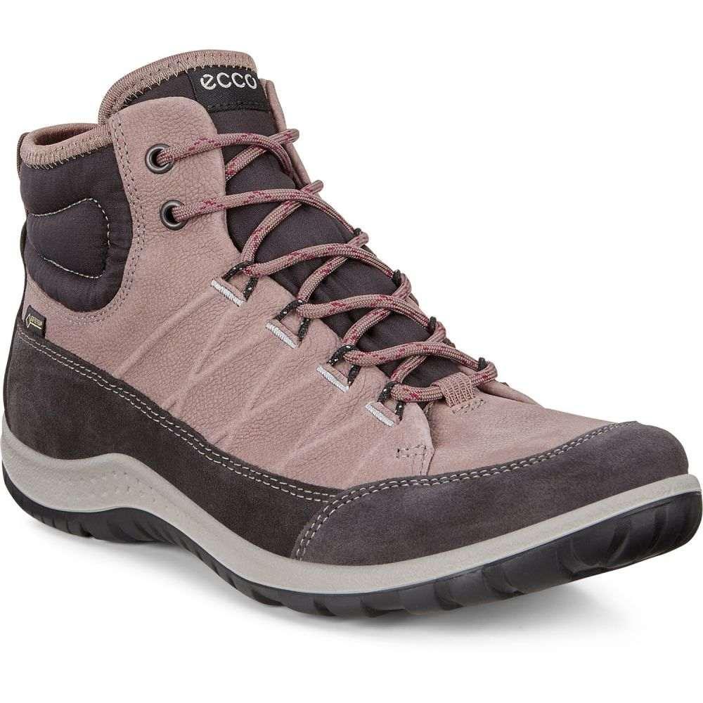 エコー Ecco レディース ハイキング・登山 シューズ・靴【ECCO Aspina GTX High Hiking Shoes】Moonless/Deep Taupe