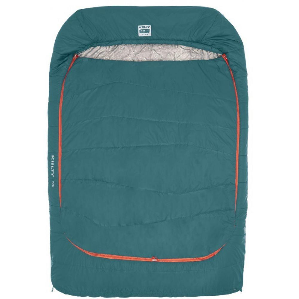 ケルティ Kelty メンズ ハイキング・登山【Tru.Comfort Doublewide 20 Sleeping Bag】Deep Teal/Mandarin Red