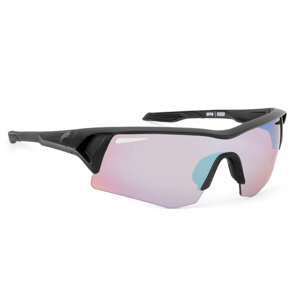スパイ Spy メンズ メガネ・サングラス【Screw Commando Kit Sunglasses】Matte Black/Rose Contact and Bronze Lens
