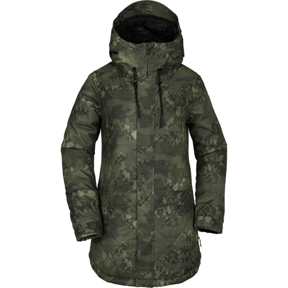 ボルコム Volcom レディース スキー・スノーボード アウター【Winrose Insulated Snowboard Jacket 2019】Camouflage