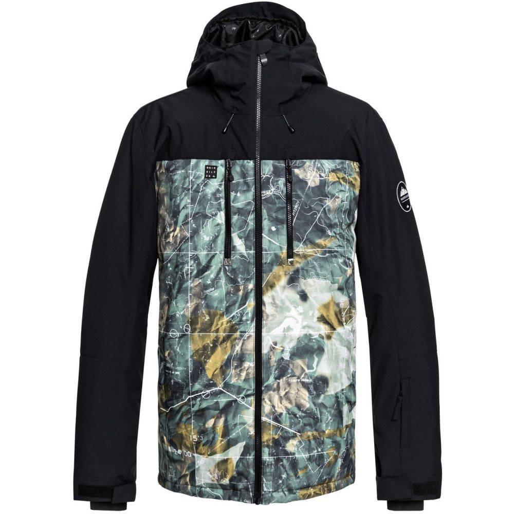 クイックシルバー Quiksilver メンズ スキー・スノーボード アウター【Mission Block Snowboard Jacket 2019】Grape Leaf Tannenbaum
