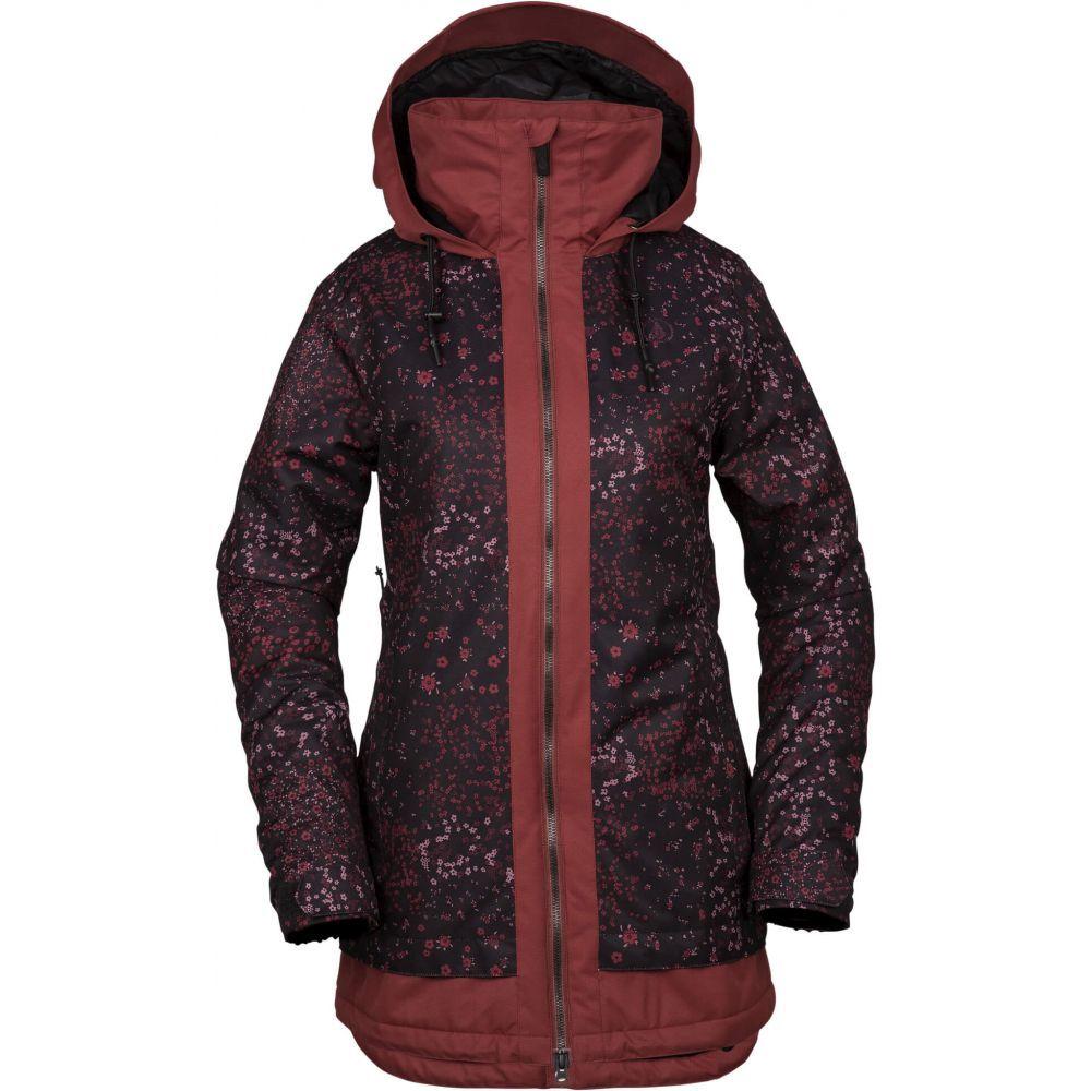 ボルコム Volcom レディース スキー・スノーボード アウター【Westland Insulated Snowboard Jacket 2019】Black Floral Print