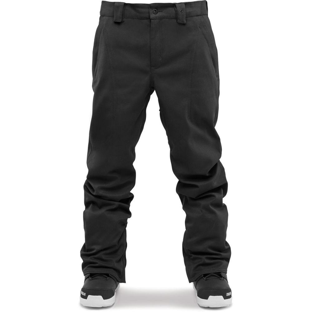 サーティーツー Thirty Two メンズ スキー・スノーボード ボトムス・パンツ【32 - Essex Chino Slim Snowboard Pants 2019】Black