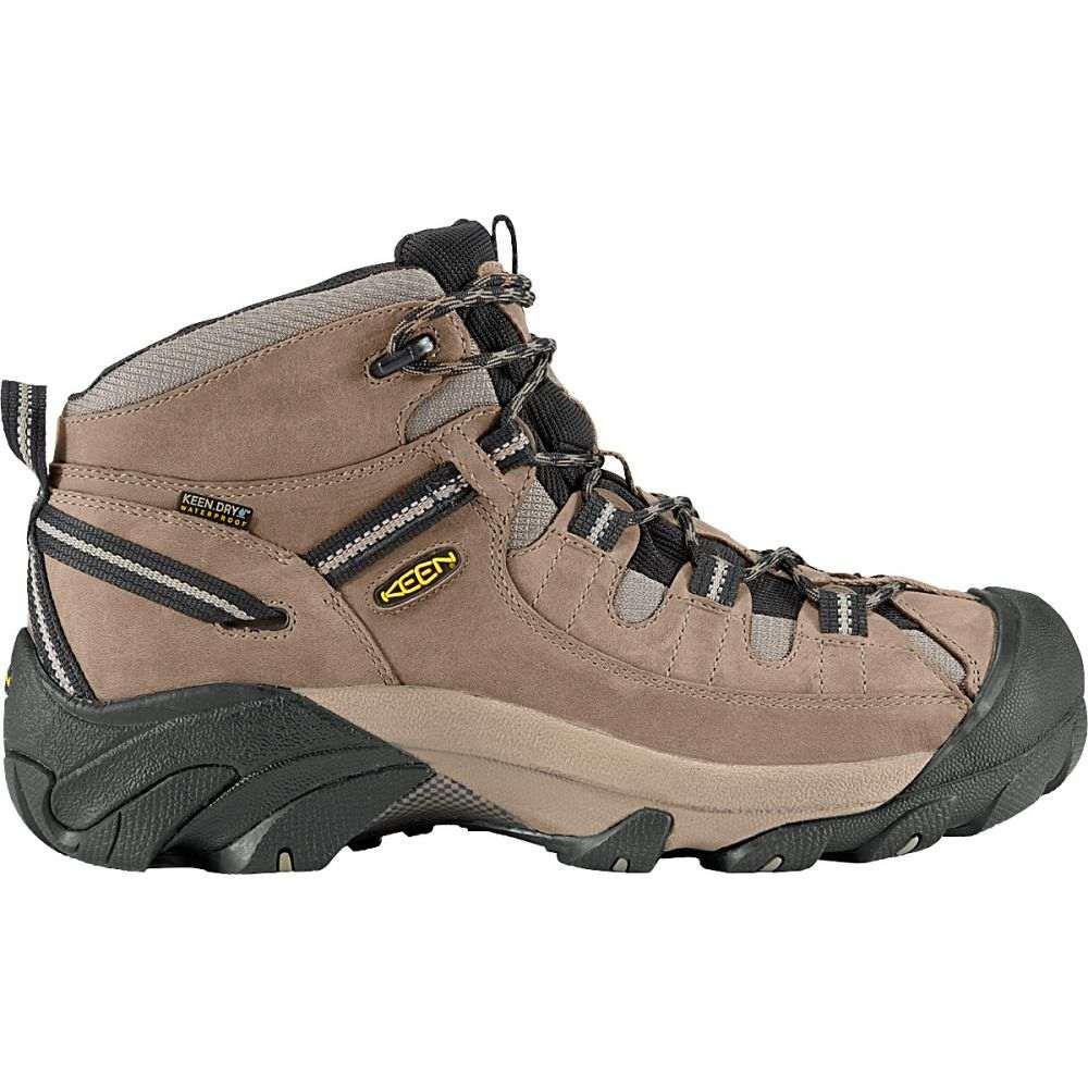 キーン Keen メンズ ハイキング・登山 シューズ・靴【Targhee II Mid WP Hiking Boots】Shitake/Brindle