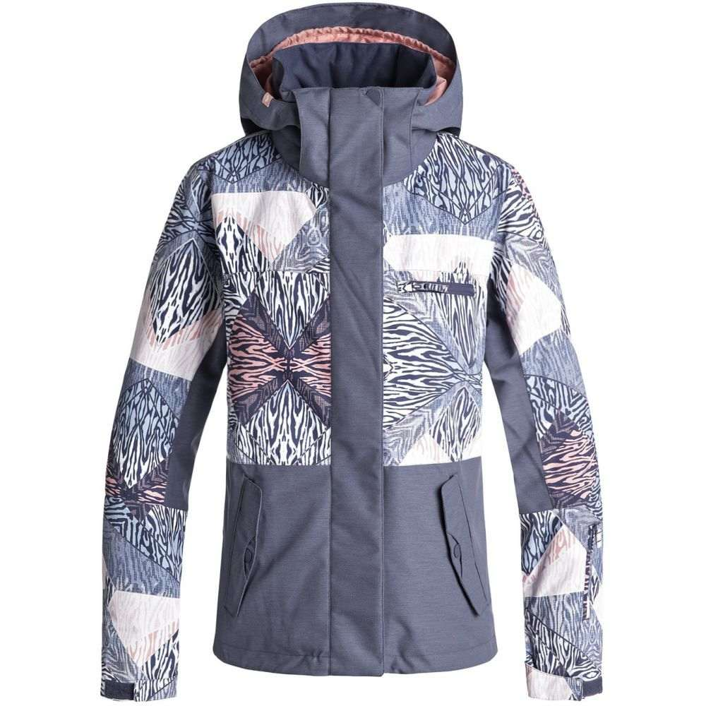 ロキシー Roxy レディース スキー・スノーボード アウター【Jetty Block Snowboard Jacket 2019】Powder Blue/Animal Geo